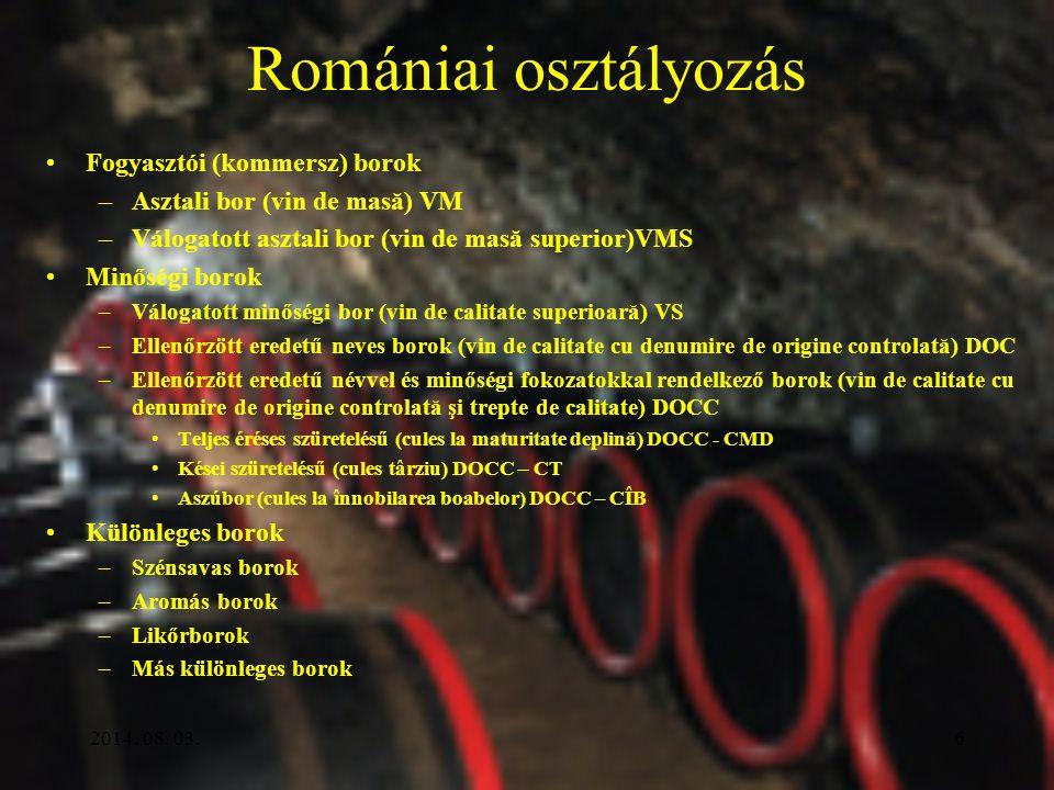 5 A BOR MEGHATÁROZÁS: –csak szőlőből –csak alkoholos erjesztéssel MINŐSÉG –kémiai összetétel –érzékszervi tulajdonságok –rendellenességek