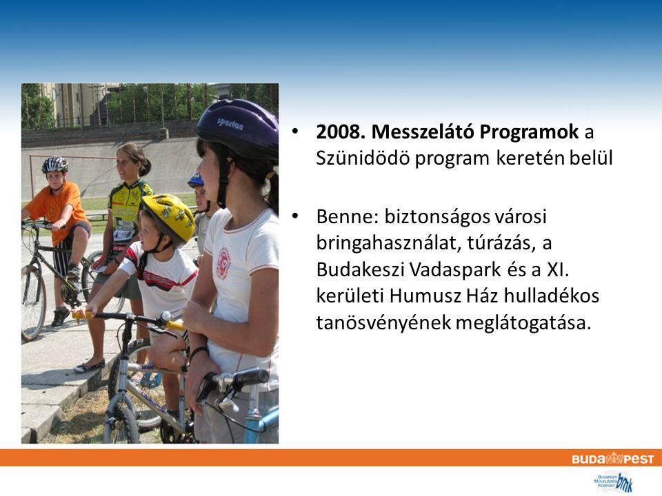 Messzelátó programok 2008.