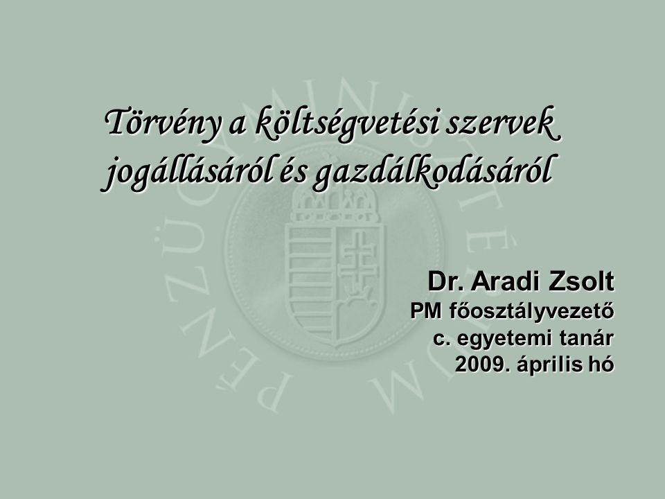 Dr.Aradi Zsolt PM főosztályvezető c. egyetemi tanár 2009.