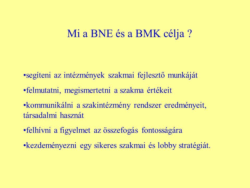 Mi a BNE és a BMK célja .
