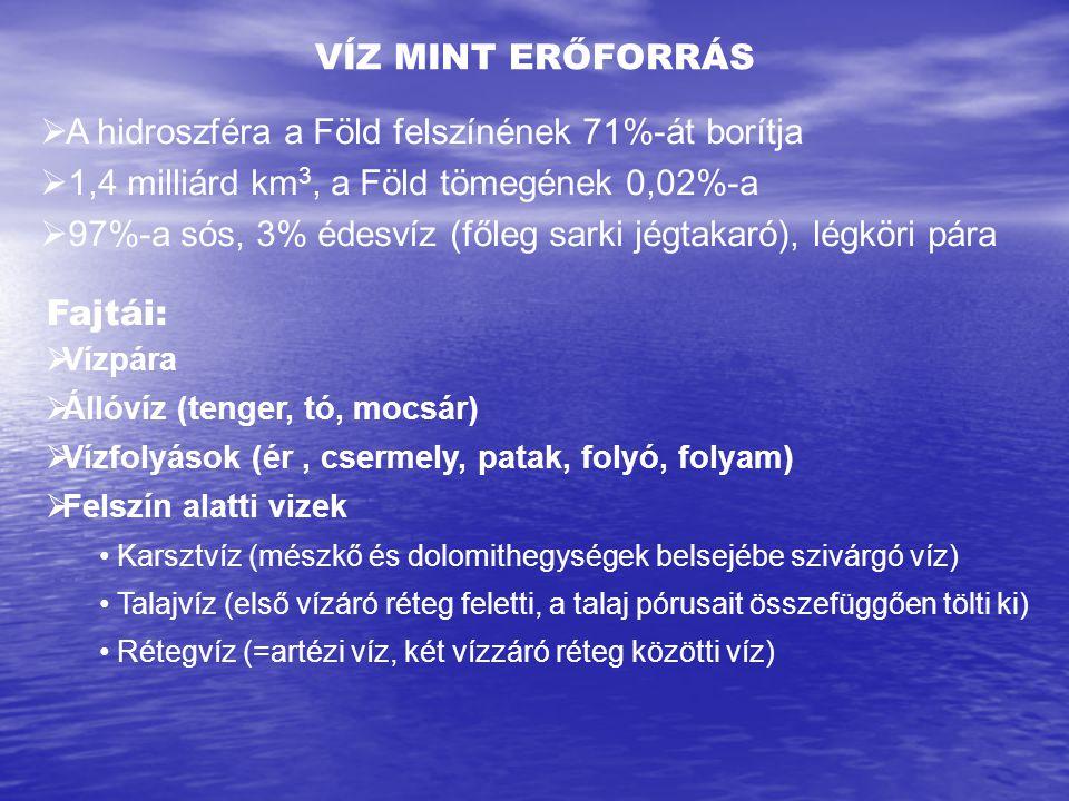 Kút Mélység (m) Geotermikus lépcső (m/°C Városliget125618 Kiskőrös154015,75 Dorog62033,29 Sikonda41914,5 Hajdúszoboszló200016,24 Gyula200020,97 Karcag118717,88 A geotermikus lépcső néhány magyarországi mélyfúrásban
