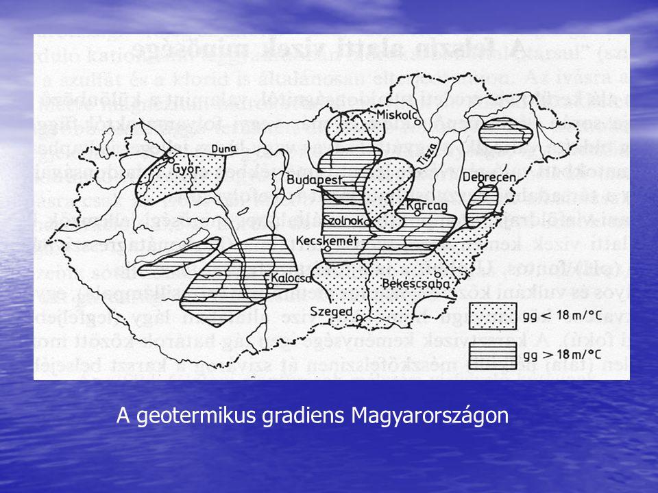 A geotermikus gradiens Magyarországon