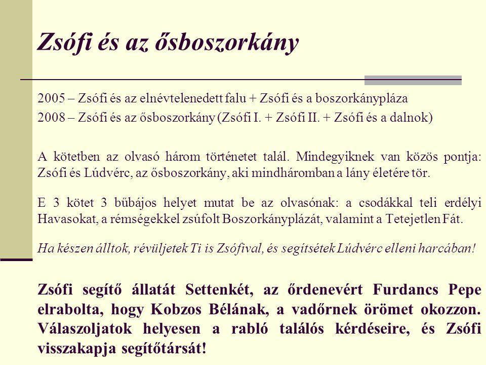 Botlik Zsófi révülő neve 2004 nyaráig Farkas Húga, a Táltosviadal óta Büvellő Botlik Dénes és Ködkergető Zsuzsanna lánya.