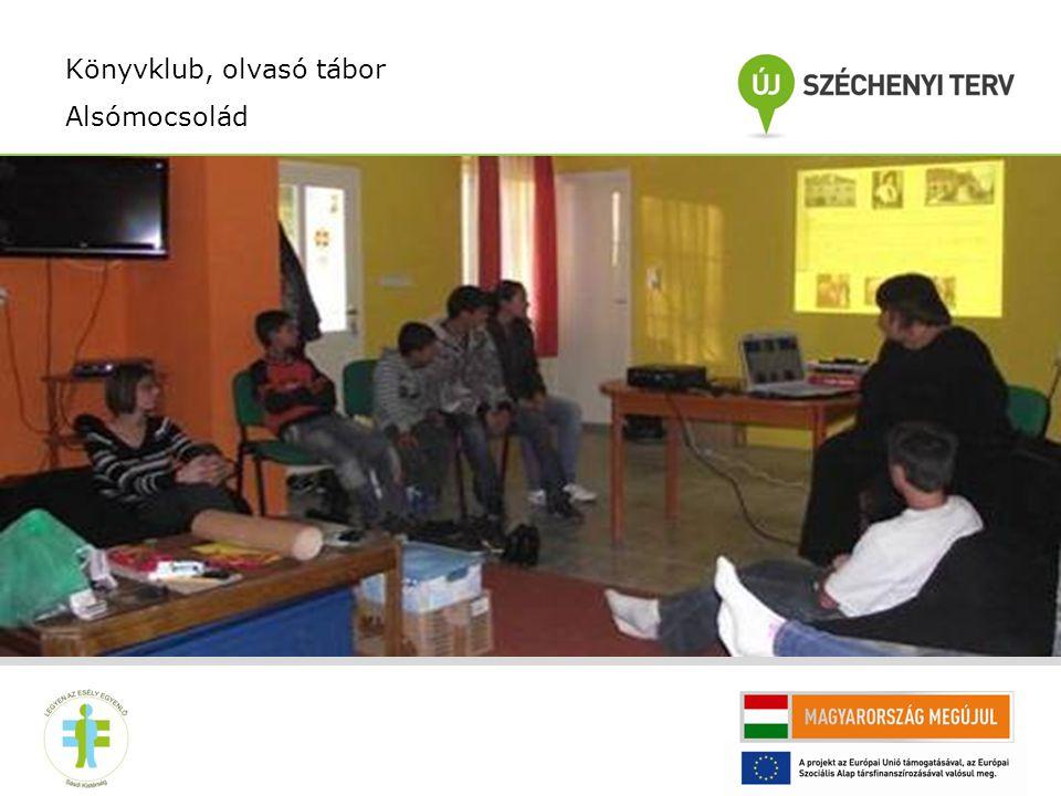 Az olvasás népszerüsítő program célja: Az olvasás népszerűsítése a fiatalok és gyermekek közt.