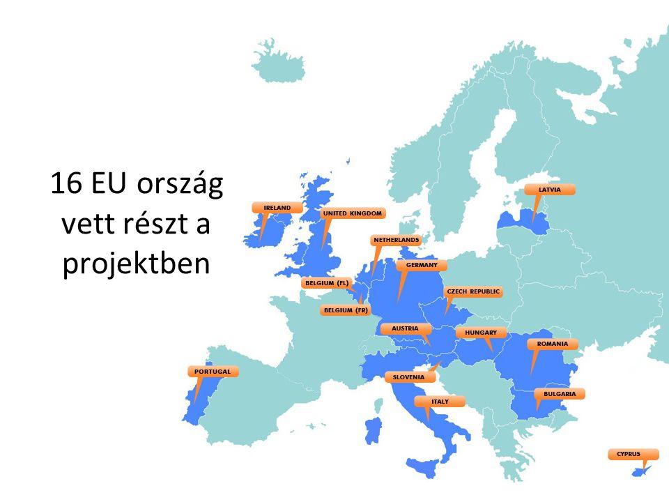 16 EU ország vett részt a projektben