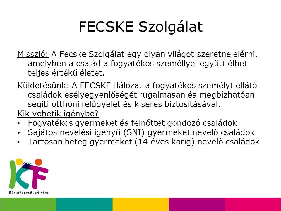 FECSKE Szolgálat Misszió: A Fecske Szolgálat egy olyan világot szeretne elérni, amelyben a család a fogyatékos személlyel együtt élhet teljes értékű é