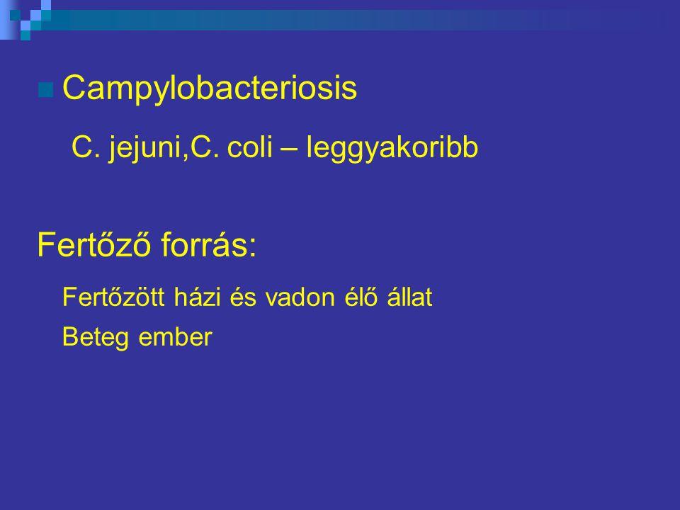 Campylobacteriosis C.jejuni,C.