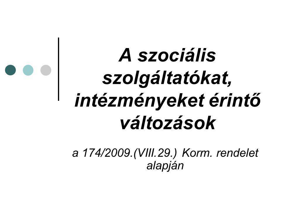 """A """"salátarendelet által érintett kormányrendeletek: 188/1999.(XII.16.) Korm."""