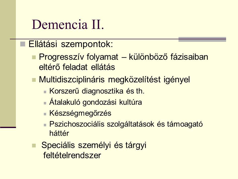 Demencia III.