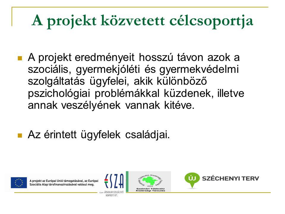 A program fő tevékenységelemei Szakmai fejlesztés I.
