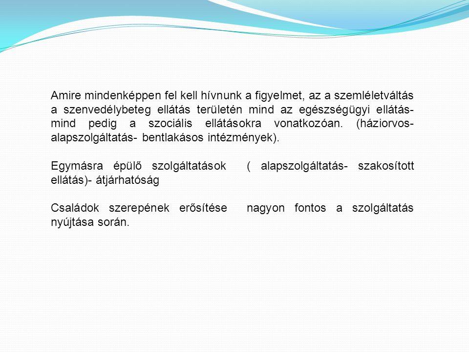"""Fiatalkorúak az addiktológiai ellátásban """"Magyarországon a droghasználók kezelése vonatkozásában a kezelési lánc (a kapcsolatfelvételtől a detoxikáción és a terápián át az utógondozásig, rehabilitációig és a droghasználat okozta ártalmak csökkentéséig) minden eleme alulfejlett és súlyos kapacitási gondokkal küzd."""