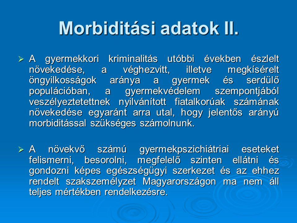 Morbiditási adatok II.