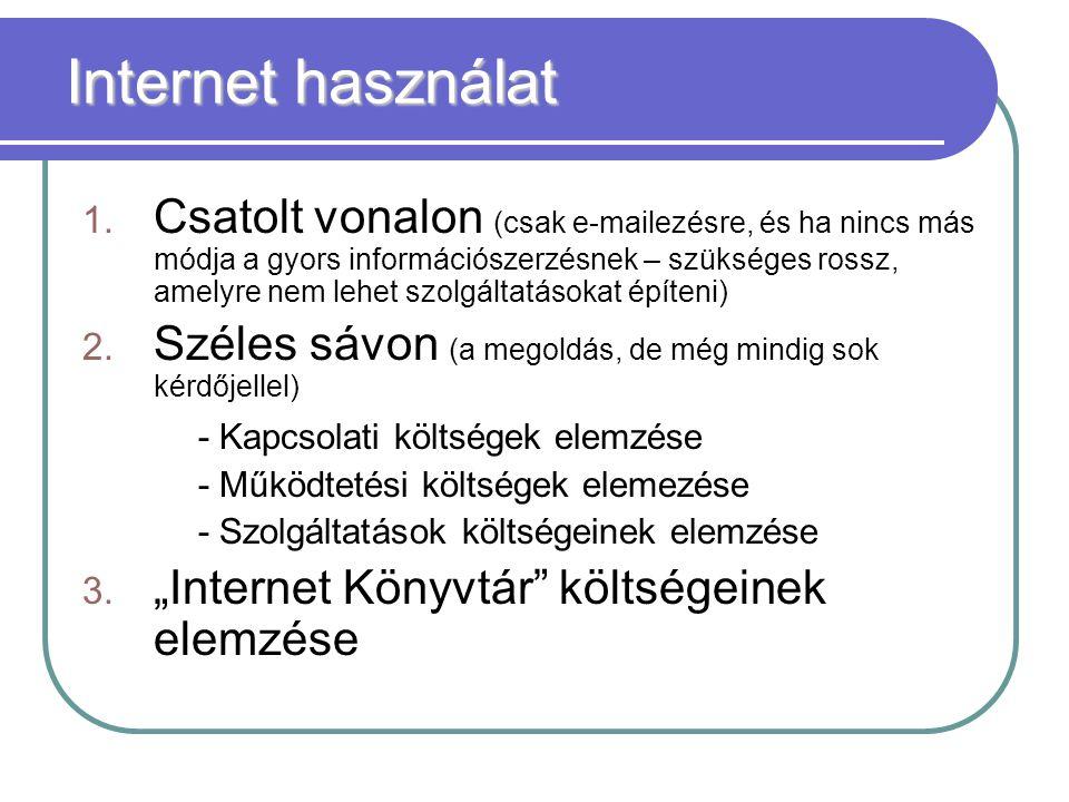 Internet használat 1.