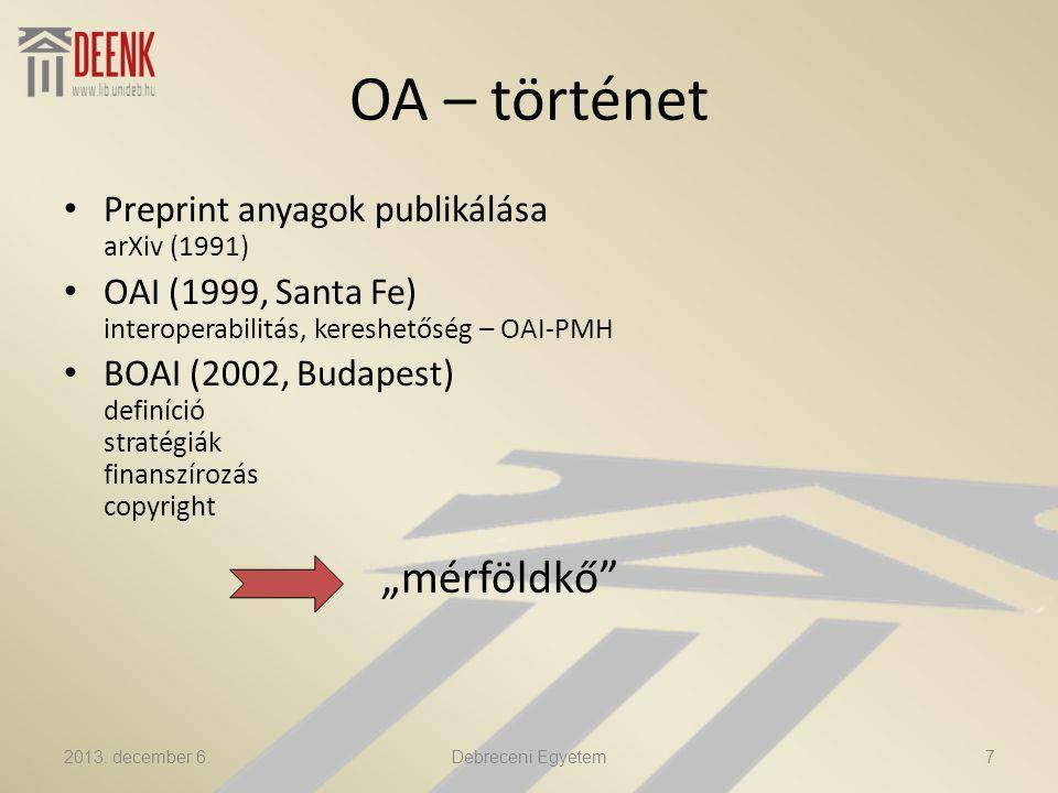 iDEa A DE tudományos eredményeinek disszeminációs portálja Profil-adatbázis: tudoster.idea.lib.unideb.hu http://tudoster.idea.unideb.hu/tudomany/PEP OPETER http://tudoster.idea.unideb.hu/tudomany/PEP OPETER 2013.