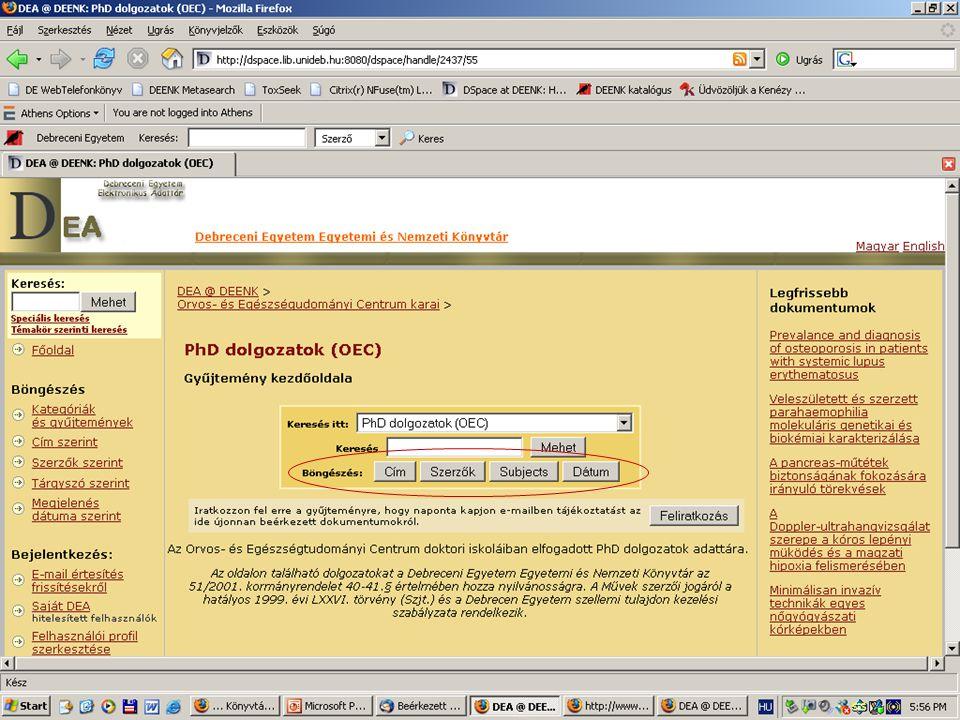 2007. július 13. Szeged MKE 39. Vándorgyűlés26 Alap-adatok