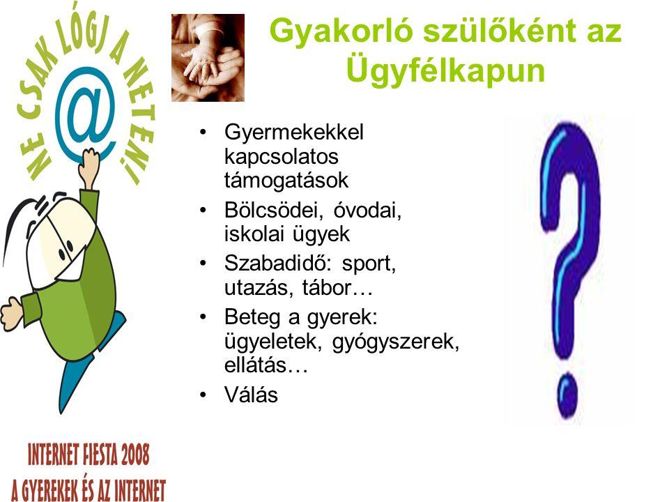 Pedagógusként az Ügyfélkapun Diák jogok Szabadidő szervezés Pályázatok Tankönyvek Gyermekvédelem Személyiségi jogok