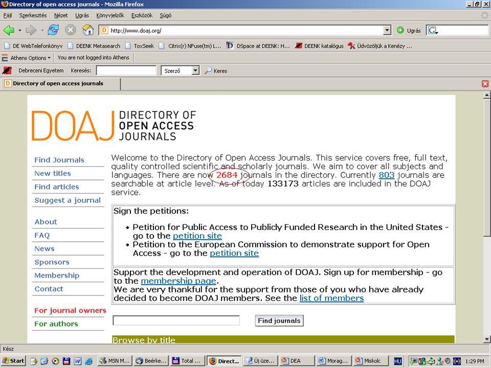 2007. május 22. Debrecen Digitalizálás és elektronikus hozzáférés 10