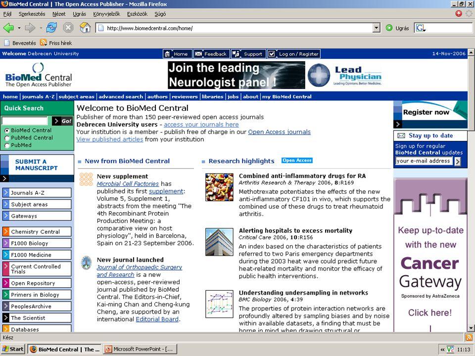 2007. május 22. Debrecen Digitalizálás és elektronikus hozzáférés 4