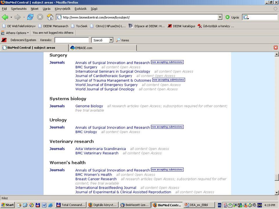2007. május 22. Debrecen Digitalizálás és elektronikus hozzáférés 6