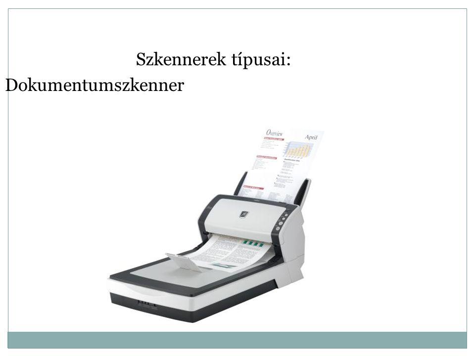 Szkennerek típusai: Könyvszkenner http://wn.com/SR300_ScanRobot__the_automatic_book_scanner_part_no_1