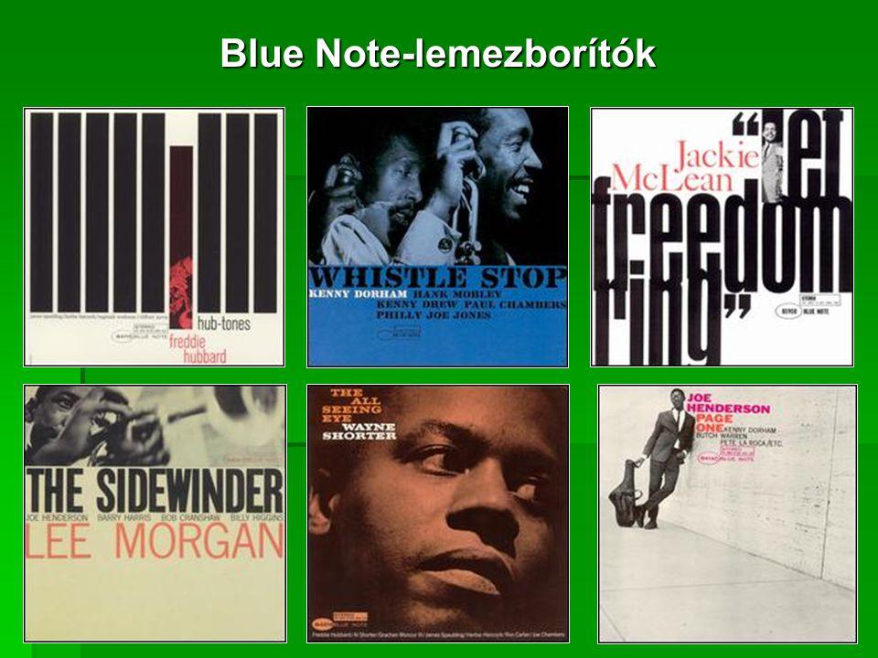 Blue Note-lemezborítók