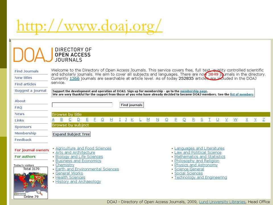 """A nyílt hozzáférés módjai 1.Nyílt hozzáférésű (alternatív) folyóiratok, kiadók – """"golden road 2."""