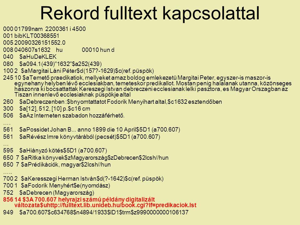 Rekord fulltext kapcsolattal 000 01799nam 2200361 i 4500 001 bibKLT00368551 005 20090326151552.0 008 040607s1632 hu 00010 hun d 040 $aHuDeKLEK 080 $a0