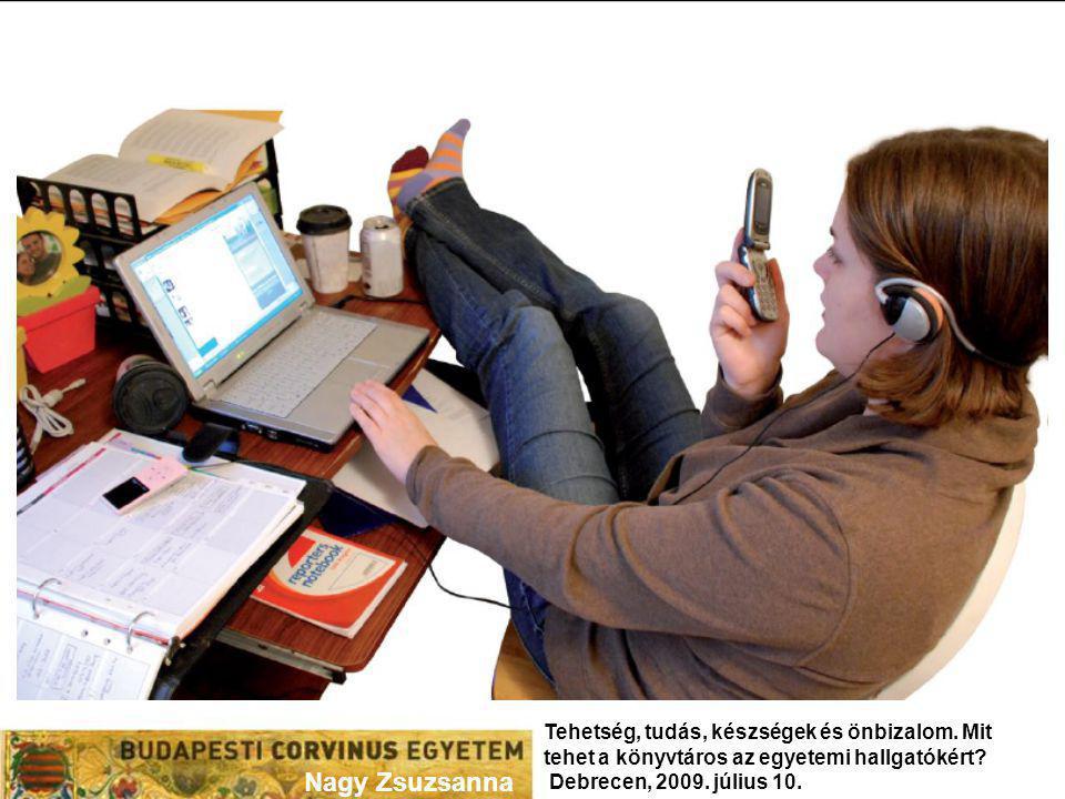 Az információs írástudás oktatása Típusai Könyvtárbemutatás Nyomtatott segédanyagok (könyvtárismertető, adatbázis használati útmutató, keresési segédletek, katalógus ismertető, sb.) Előadás/adatbázis bemutató (egyszeri alkalom) Gyakorlattal egybekötött oktatás ( számítógépes teremben) Egyéni, egyszeri oktatás (szaktájékoztatás keretében, pl.
