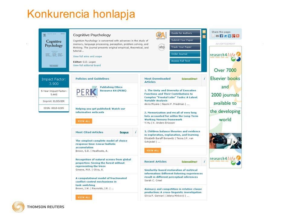 Konkurencia honlapja