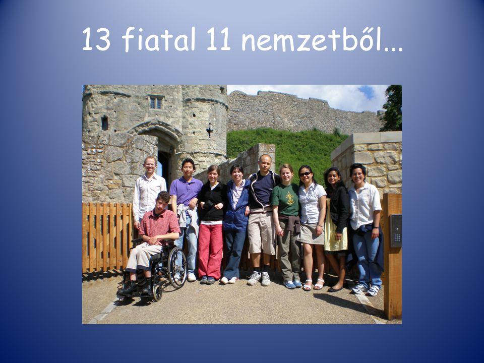 13 fiatal 11 nemzetből...