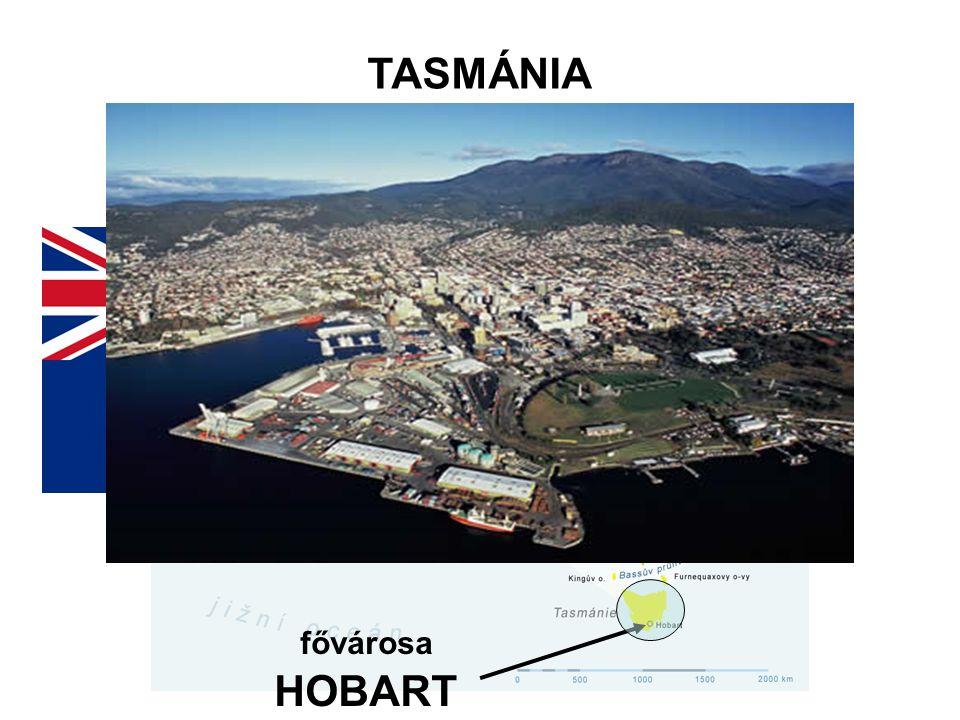 TASMÁNIA fővárosa HOBART