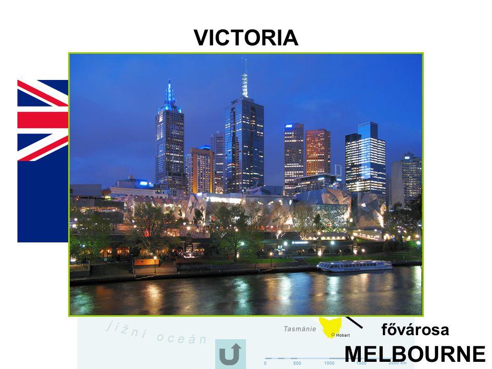 Az Ausztrál Államszövetség - 1901-ben lett független állam.