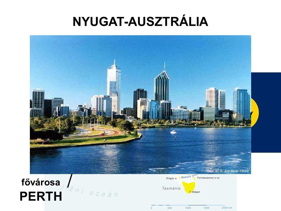fővárosa PERTH NYUGAT-AUSZTRÁLIA