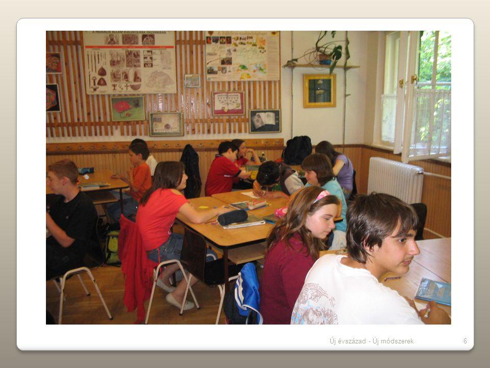 Új évszázad - Új módszerek6 Célok: -I-Iskolai élet sikeresebbé tétele -E-Esélyegyenlőség biztosítása -S-Szövegértő olvasás fejlesztése -M-Matematikai műveletek gyakorlati hasznosítása -K-Környezetbarát iskolai környezet kialakítása -K-Koordináló szerep -S-Számítógép -K-Készség-képesség fejlesztés -M-Minőségi eredmények javítása