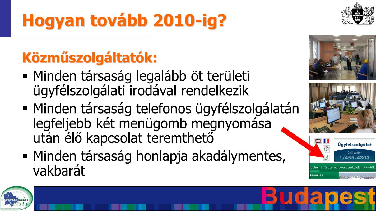 Hogyan tovább 2010-ig.