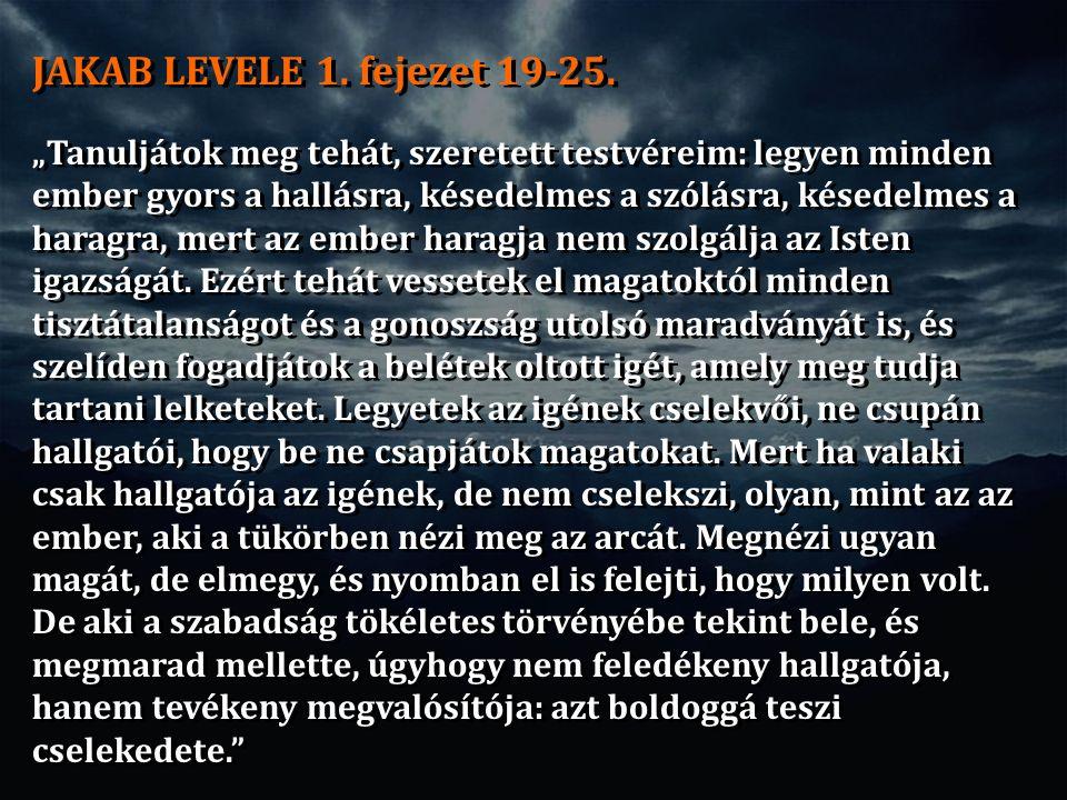 JAKAB LEVELE 1.fejezet 19-25.