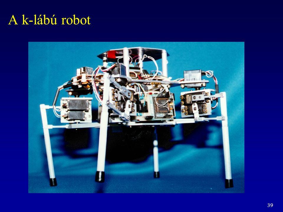 39 A k-lábú robot