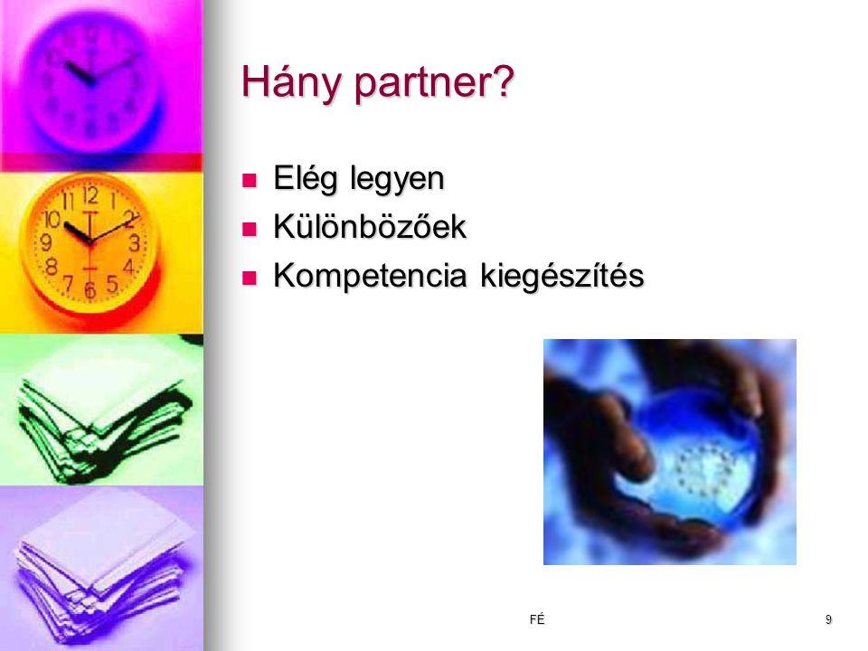 FÉ9 Hány partner.