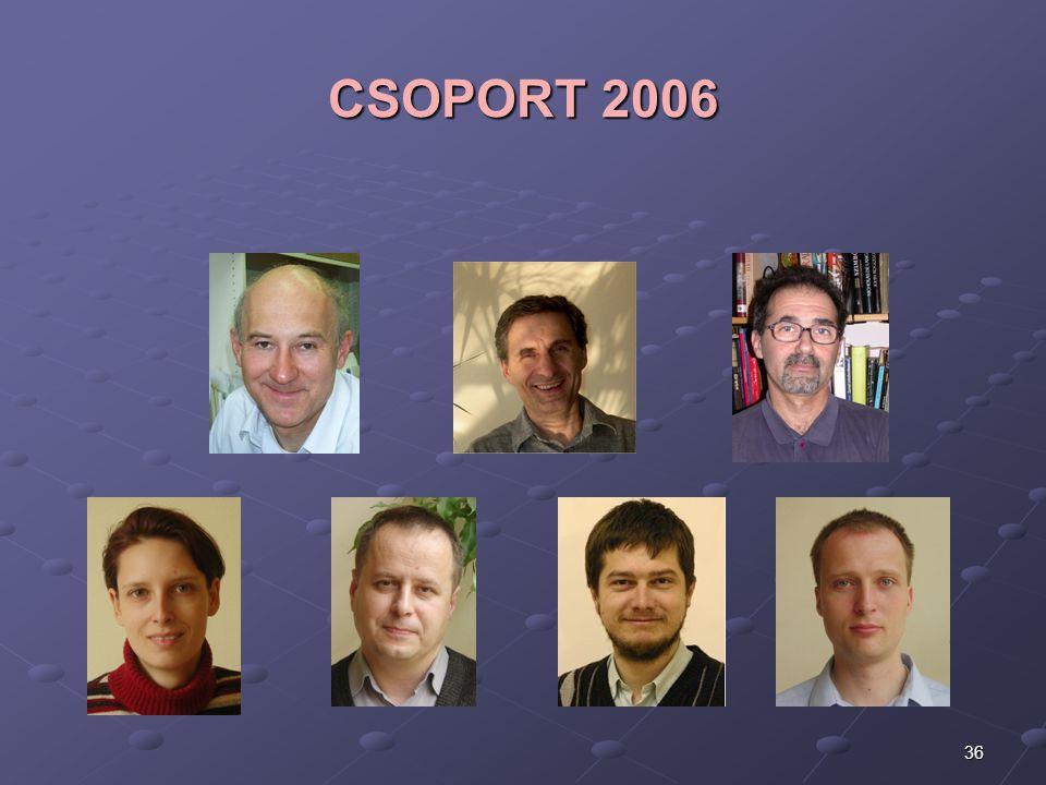 36 CSOPORT 2006