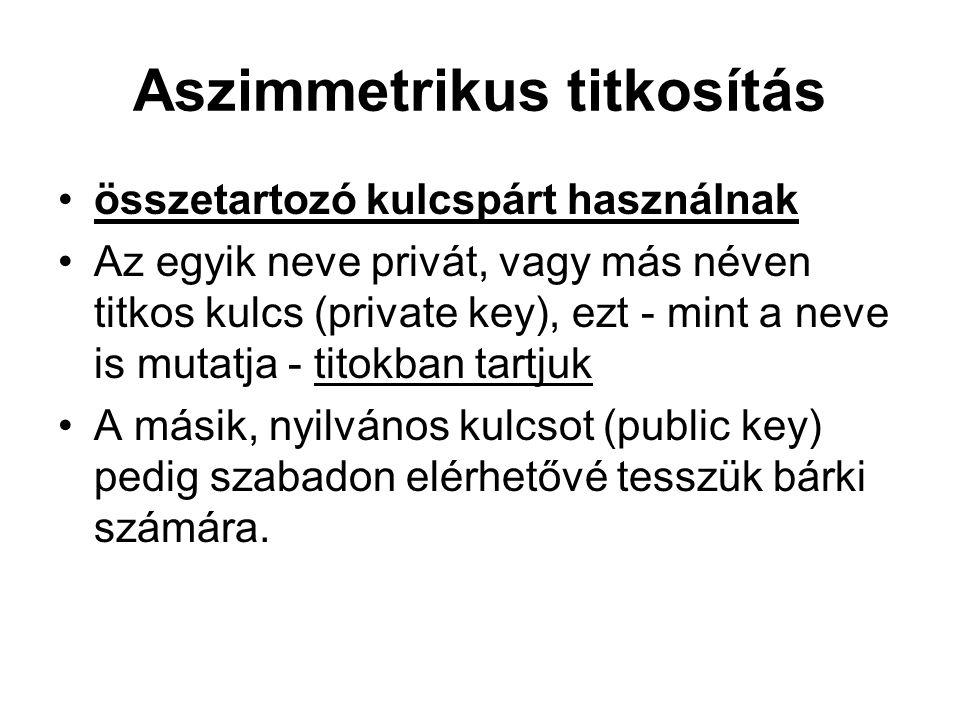 Tanúsítvány osztályok (class) a Netlock magyar hitelesítő szolgáltató például (a bizonytalanságot elkerülendő) néven nevezi az Expressz (C, leggyengébb), Üzleti (B), illetve Közjegyzői (A) tanúsítványait.