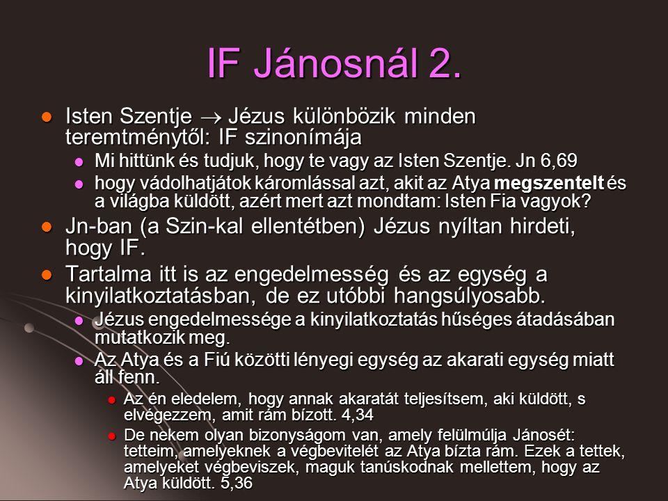 IF Jánosnál 2.