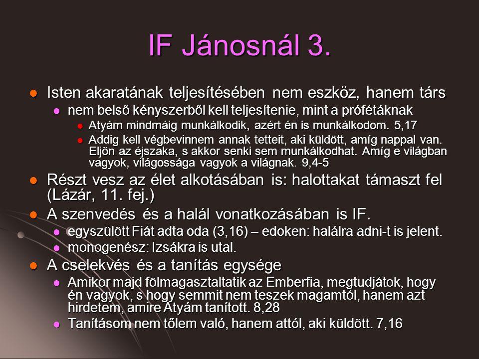 IF Jánosnál 3.
