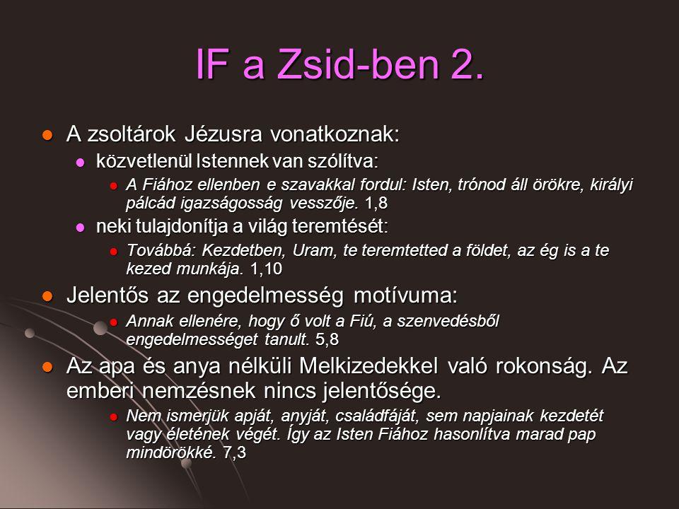 IF a Zsid-ben 2.