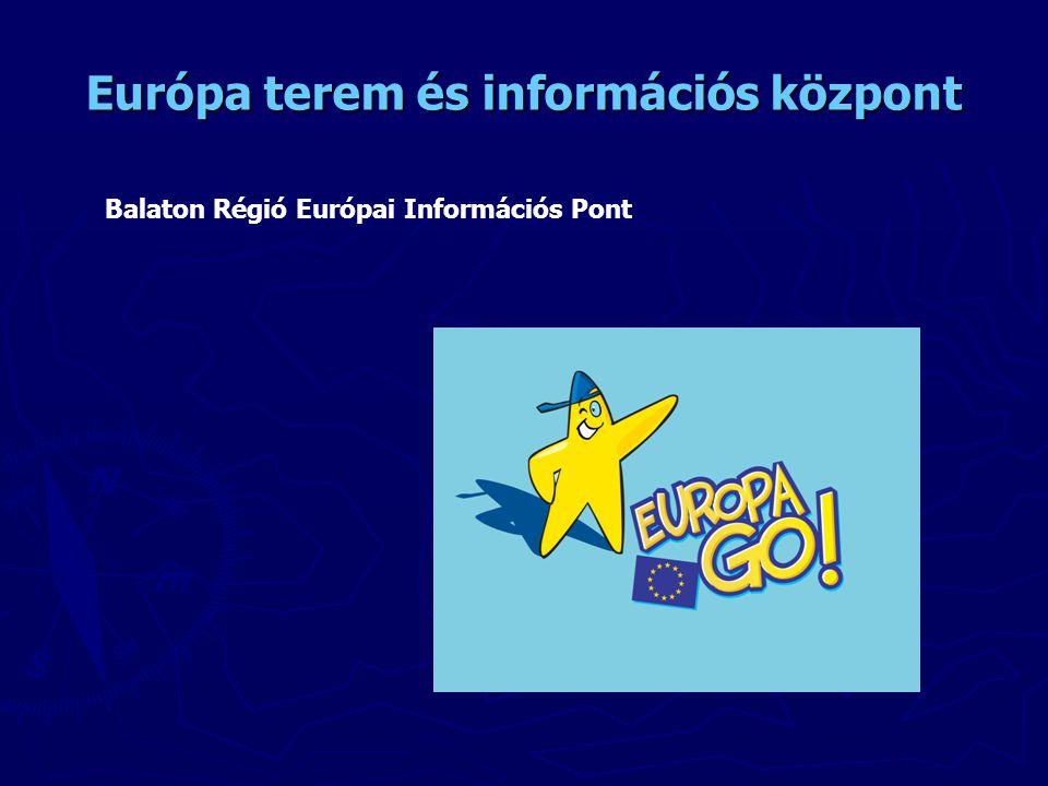Európa terem és információs központ Balaton Régió Európai Információs Pont