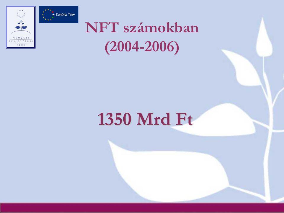 NFT számokban (2004-2006) 1350 Mrd Ft
