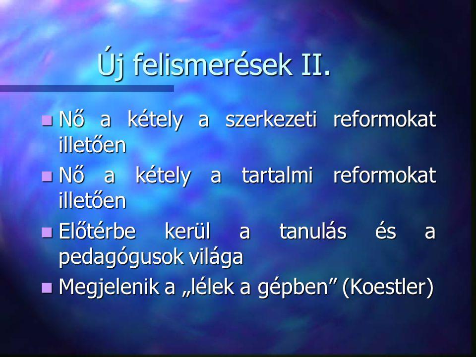 Új felismerések II.