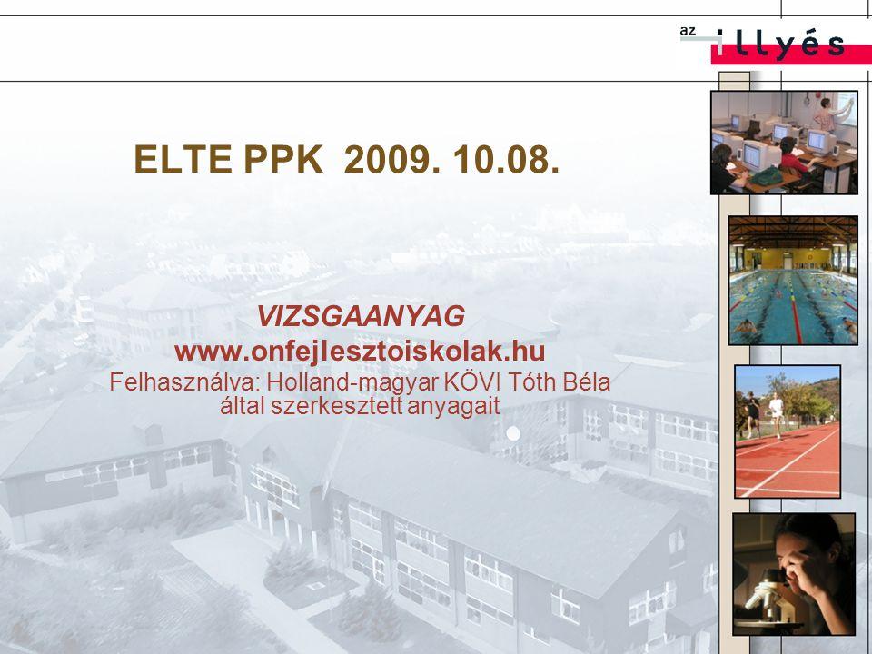 ELTE PPK 2009.10.08.