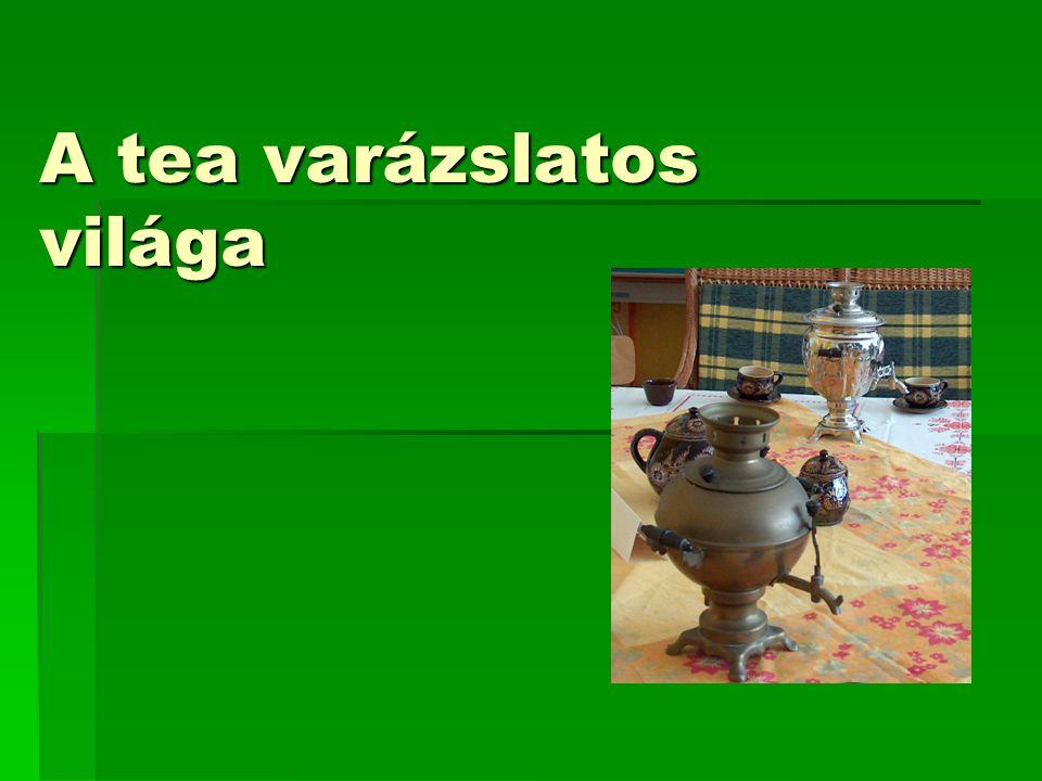 A tea varázslatos világa