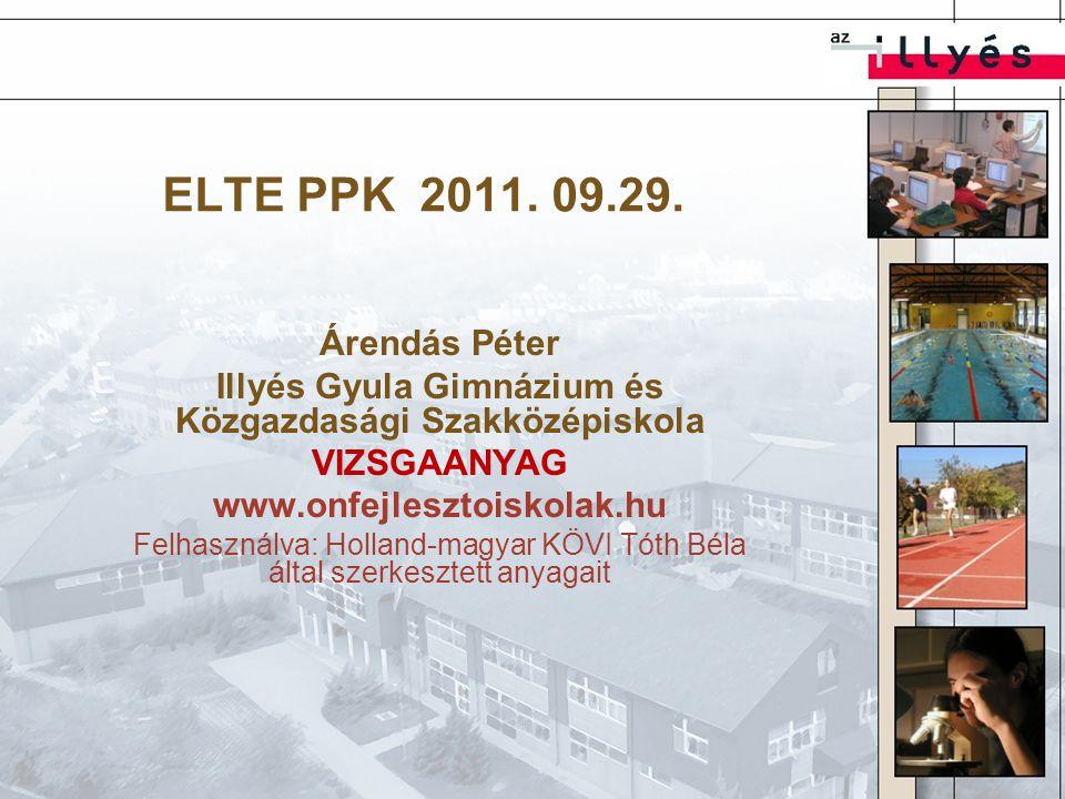 ELTE PPK 2011. 09.29.
