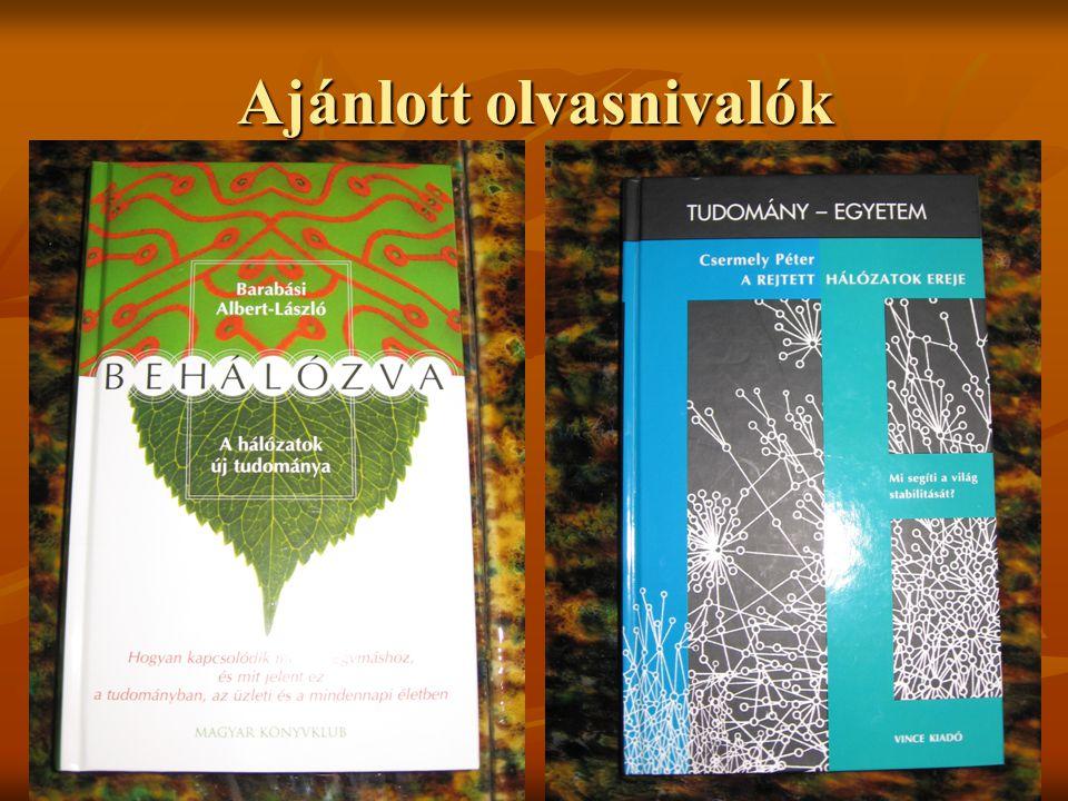 Ajánlott olvasnivalók
